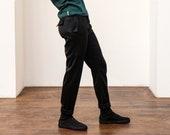 NANT pants - Asymmetric -Black