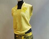 GEOM - Linen - Green Yellow Shirt