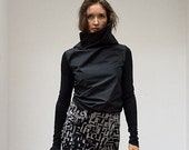 SERGE - skirt - black ...