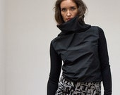 SHILSO - shirt - black - taft