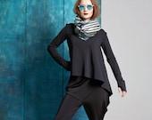 NIKOU - shirt - longsleeve - black