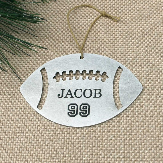 Football Gift Football Gifts For Players Football Gift Ideas Football Gifts For Boys Personalized Metal Football Ornament 170201
