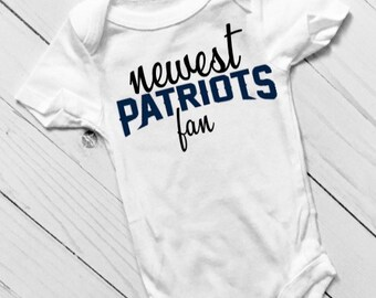 on sale 1821d d6ff7 Patriots baby | Etsy