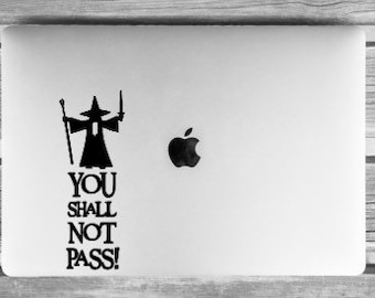 Lord Of The Rings Laptop Decal