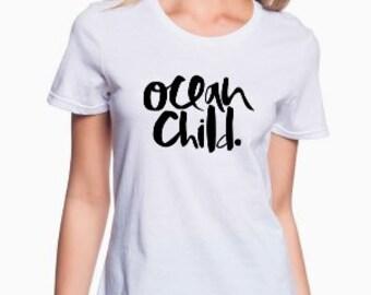 Ocean Child Beach Shirt