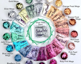 NEW!!! Biodegradable Glitter -  The Color Wheel Collection ecoGlimmer