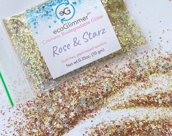Biodegradable Glitter - Rose & Starz ecoGlimmer