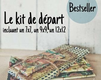 Starter Kit, Three Pack, Food Film, foodwrap Envelopes, Eco-Friendly, Zero Waste, Reusable, Organic