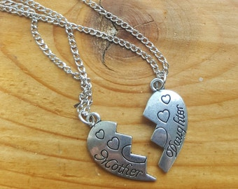 Mother & Daughter message jewlery