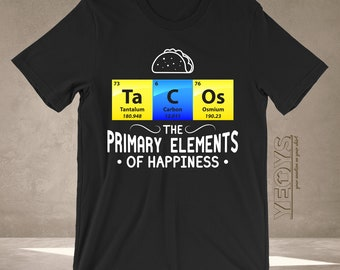 b2398ce44cec Periodic Table Shirt - Graphic Tee Gift