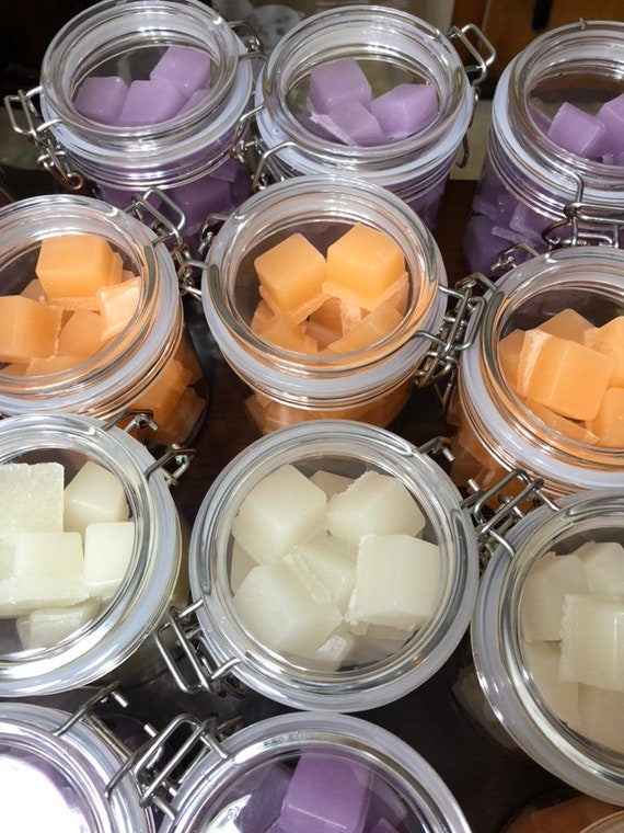 Sugar Scrub Soap Cubes