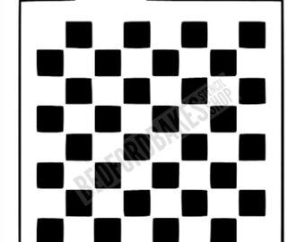 e247c882bcb1b Checkerboard Stencil Checkerboard Cookie Stencil