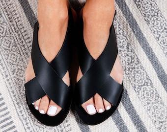 35b9675cd96 Greek Leather Sandals