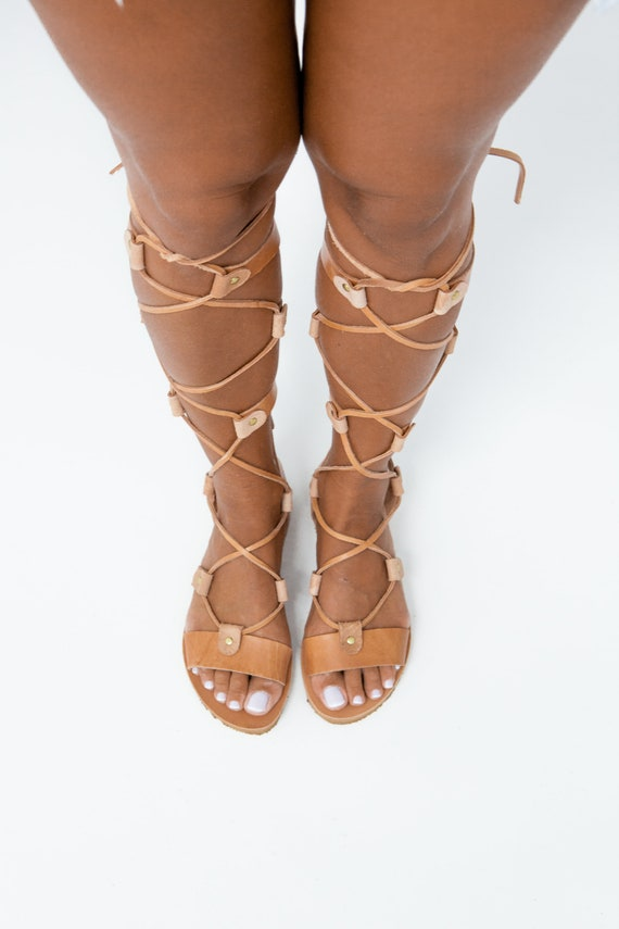 d6c814813d9ad0 ... elegant Etsy clearance sale 20d1f 5471f  ARTEMIS Greek gladiator  gladiator boot sandals greek leather better b4bf4 66d2c ...