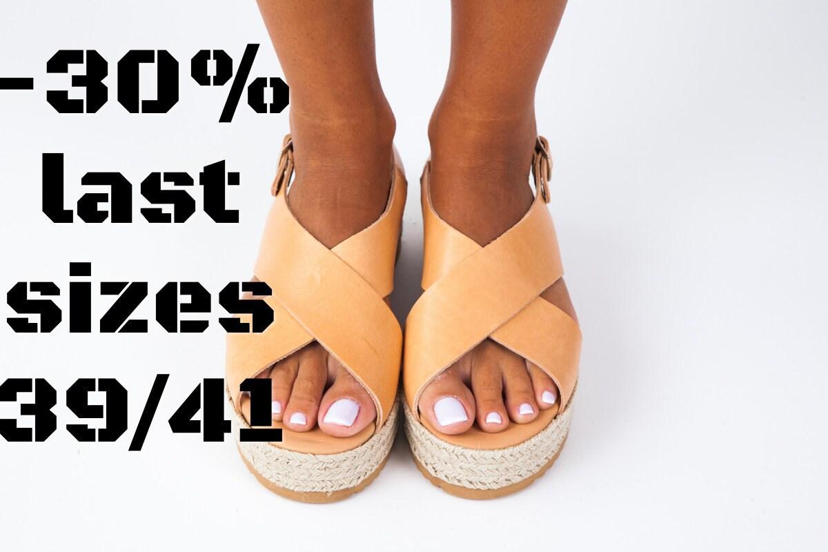 CORFU/ platform shoes/anklet sandals/greek flatforms/greek leather sandals/summer shoes/anklet platform sandals/natural leather shoes/women shoes/ x-cross sandals f2edff