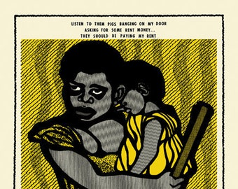 They Should Be Paying My Rent by Emory Douglas