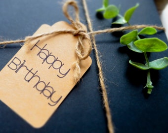 Happy Birthday Gift Tags //