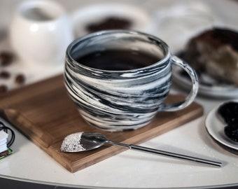 """Plates """"Marble""""mugs tea/coffee pair """"marble"""""""