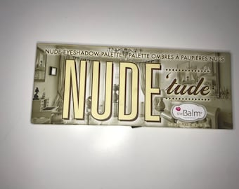nude study the balm palette