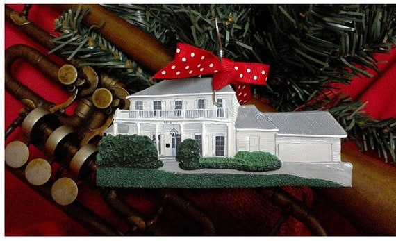 Custom Home Ornament