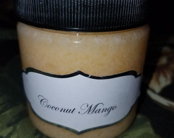 Coconut Mango Salt Scrub 4oz