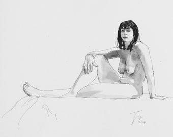 Woman Sitting (1)
