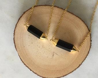 Onyx Crystal Necklace