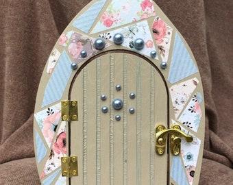 Decoupage Fairy Door