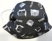 CAT Lagerfeld mask - CAT Moss