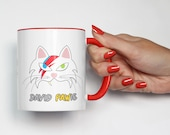 Mug David Pawie & Elvis the PAWlvis