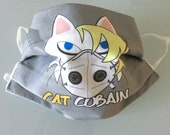 CAT Cobain mask