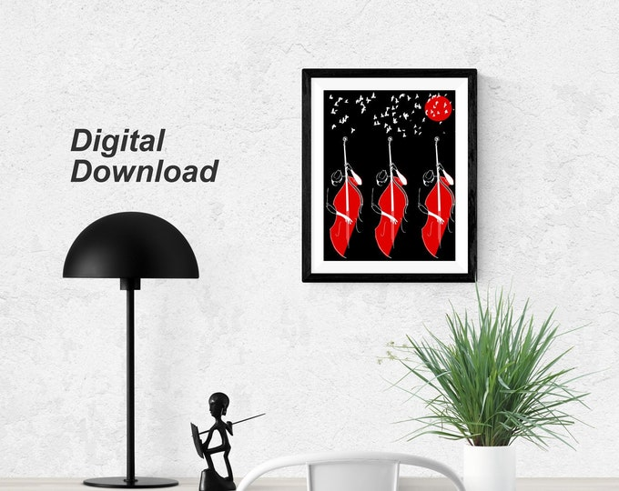 Bass Trio I— Instant Download