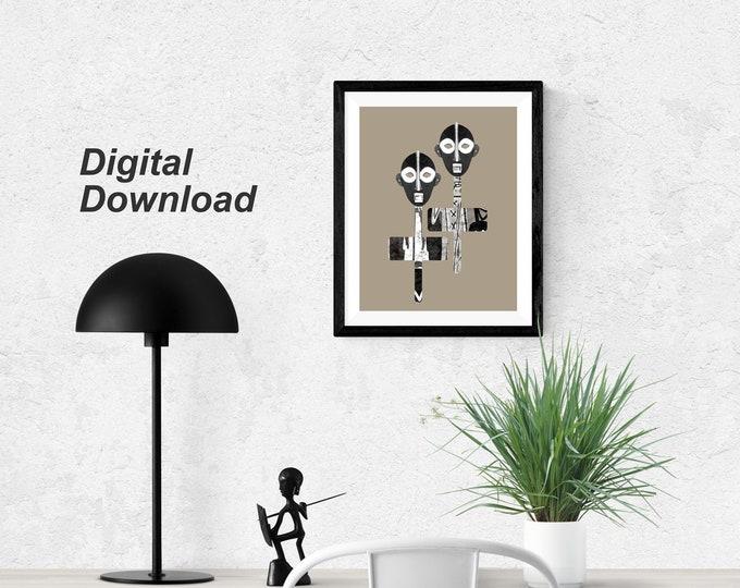 Ndugu Masks II - Instant Download
