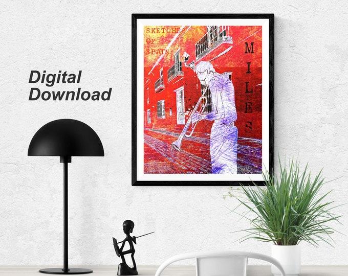 Miles Davis -Sketches of Spain  - Instant Download