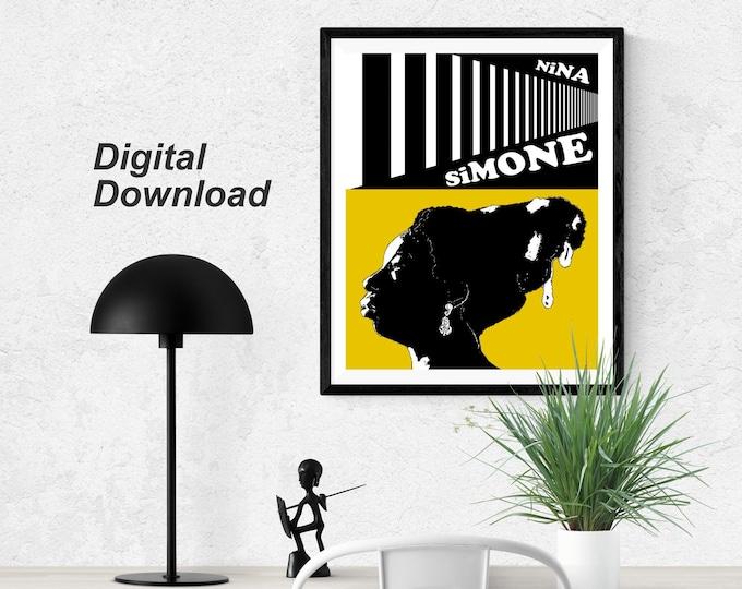 Nina Simone - Yellow - Instant Download