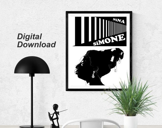 Nina Simone - White - Instant Download