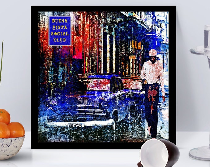 Buena Vista Social Club Framed Poster