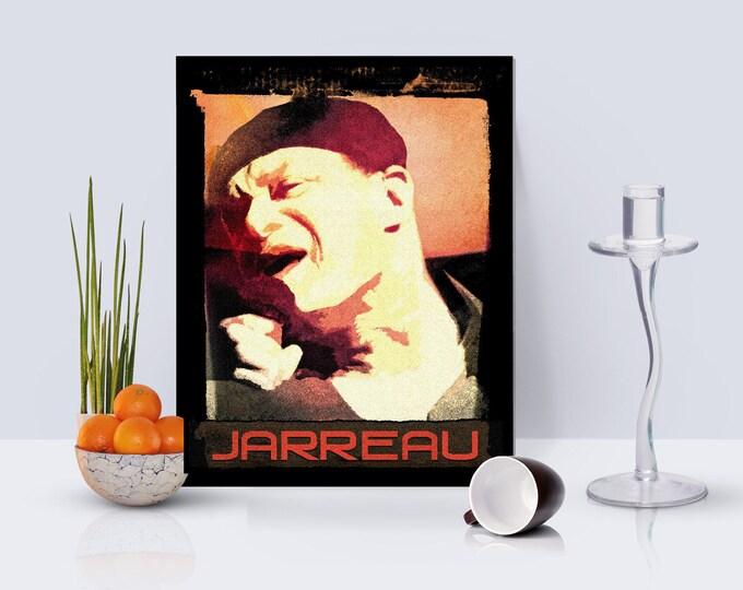 Al Jarreau Framed Poster