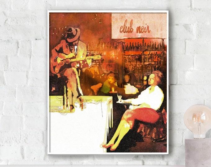 Club Noir - Hot Poster
