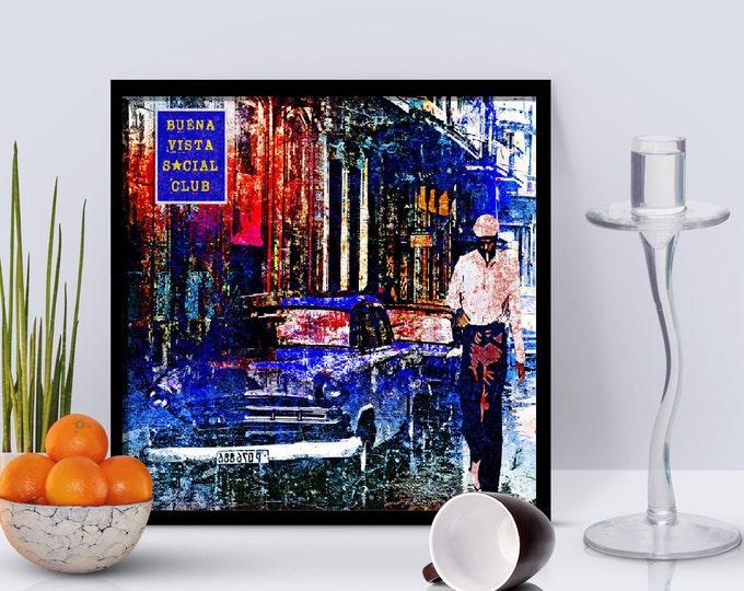Buena Vista Social Club Framed Poster