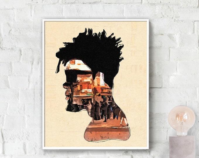 City Man Poster