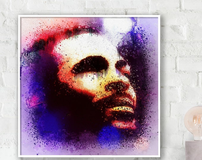 Marvin Gaye Photo Paper Poster