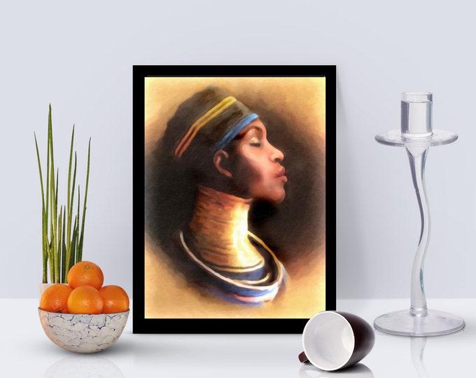 African Queen Framed poster