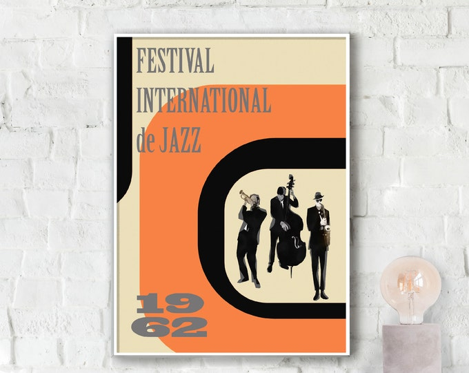 Festival International de Jazz Poster