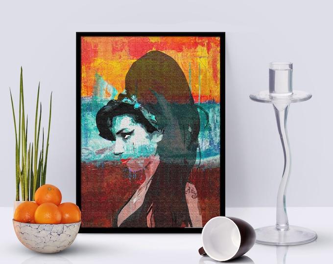 Amy Winehouse Framed Poster