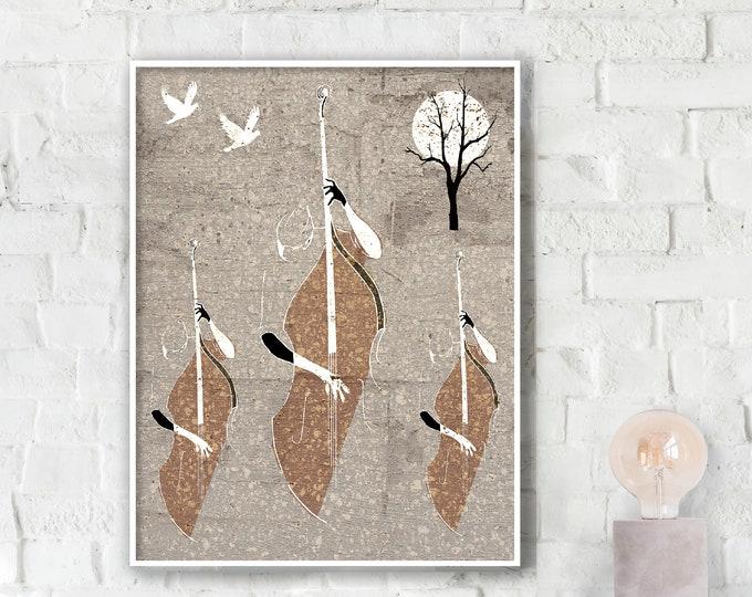 Autumn Jazz Poster