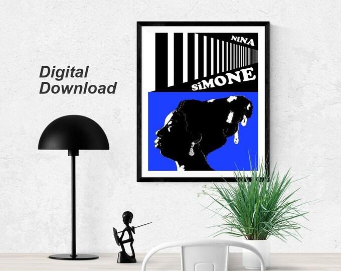 Nina Simone - Blue - Instant Download