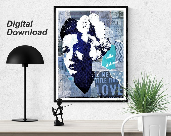 Billie Holiday Instant Download