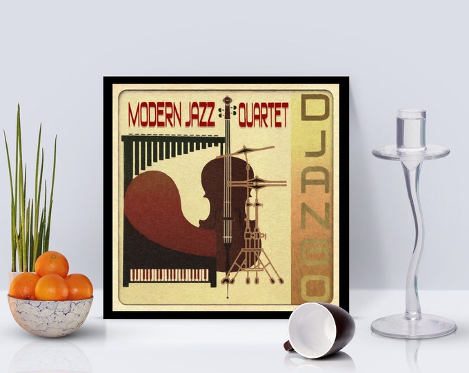 Modern Jazz Quartet - Django Framed Poster