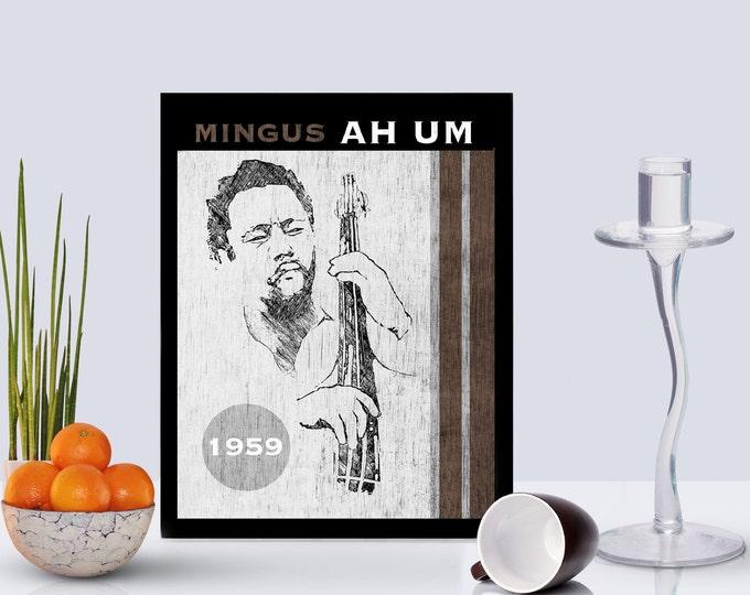 Charles Mingus Framed poster
